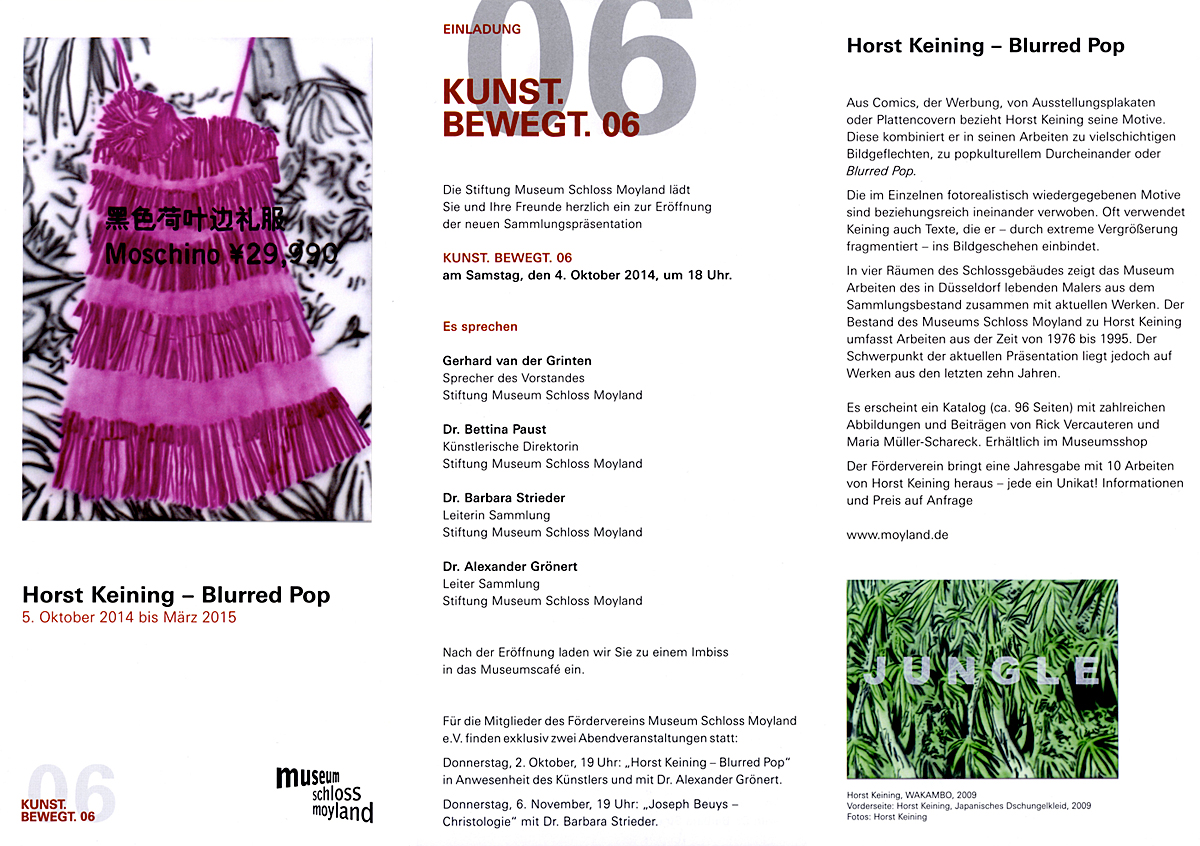 Horst Keining – Blurred Pop